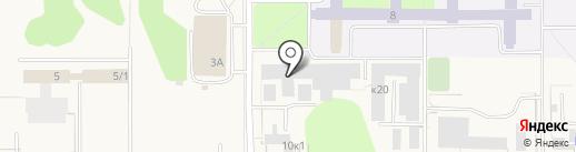 СибАвто на карте Краснообска