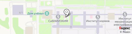 Банкомат, КБ Акцепт на карте Краснообска