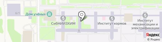 СибНИИЖ на карте Краснообска