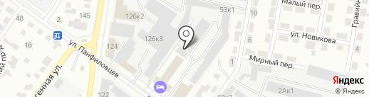 Автобокс на карте Новосибирска
