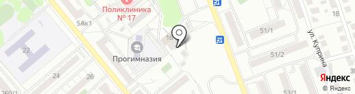 TIRMIX на карте Новосибирска