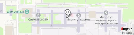 Эланта на карте Краснообска