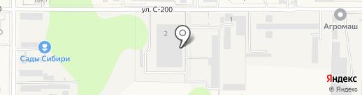 Артания-лазер на карте Краснообска