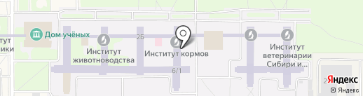 МонтажСервис-Сибирь на карте Краснообска