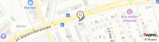 Данилов Двор на карте Новосибирска