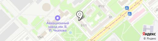 Перспектива на карте Новосибирска