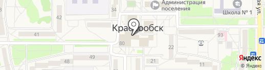 Сибсталь Пламя на карте Краснообска