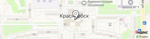 Сбербанк России на карте Краснообска