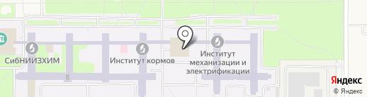 Столовая на карте Краснообска