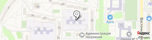 Чебурашка на карте Краснообска