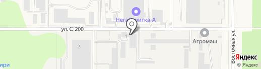 Автосервис на карте Краснообска