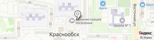 Ателье по ремонту одежды на карте Краснообска