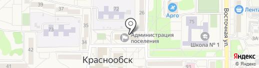 Администрация р.п. Краснообска на карте Краснообска
