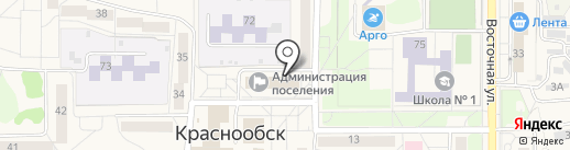Совет депутатов п. Краснообск на карте Краснообска