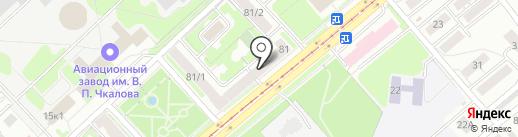 Веллнэсс Флакс на карте Новосибирска