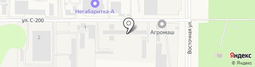Новосибирсксельмаш на карте Краснообска