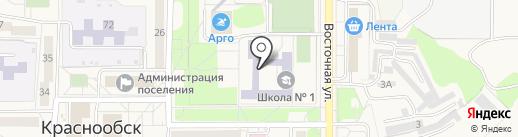 Юнити, НУДО на карте Краснообска