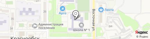 Лига Роботов на карте Краснообска