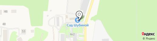 Торсион на карте Краснообска