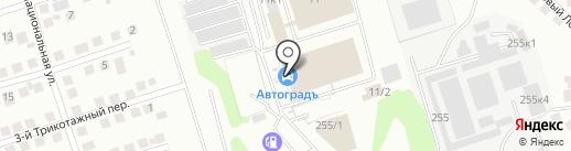 Автотрейд-НСК на карте Новосибирска