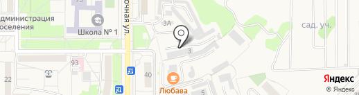 Детали техники на карте Краснообска