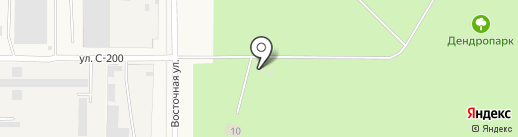 Краснообский дендропарк на карте Краснообска