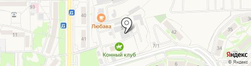 Е4 на карте Краснообска
