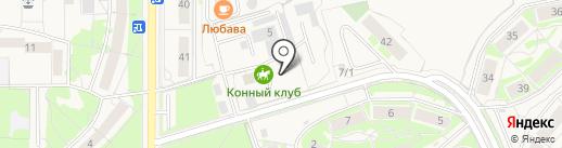 Конный клуб на карте Краснообска