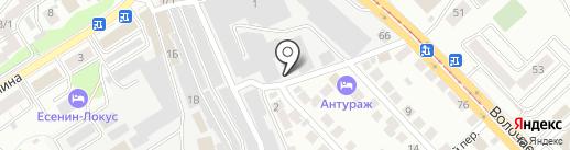 у Николая на карте Новосибирска
