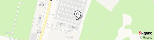 СТК на карте Краснообска