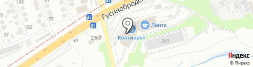 Русский фейерверк на карте Новосибирска