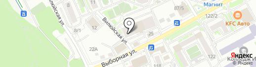ШКАФ & КУХНЯ на карте Новосибирска