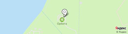 Орбита на карте Сосновки