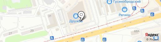 Luxor на карте Новосибирска
