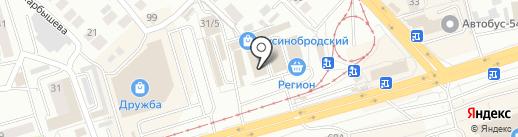 Магазин рыболовных товаров и принадлежностей на карте Новосибирска