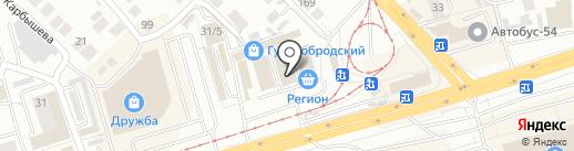 Магазин электро и бензоинструмента на карте Новосибирска