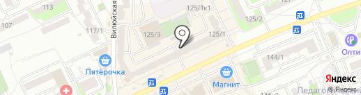 CRAFT & DRAFT на карте Новосибирска