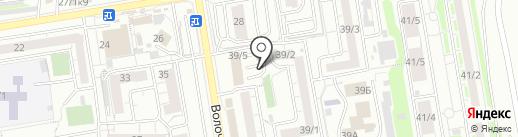 SuperMag на карте Новосибирска