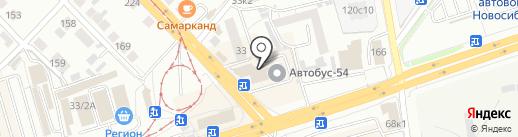 ДОКУМЕНТООБОРОТ на карте Новосибирска