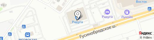 Сибкарандаш на карте Новосибирска