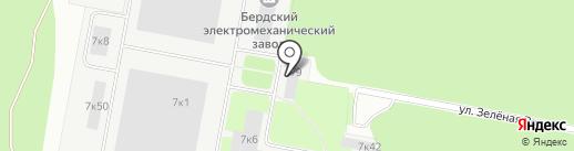 ЦЕНТР на карте Бердска