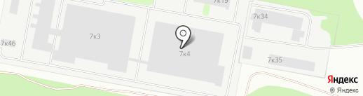 Диамант на карте Бердска
