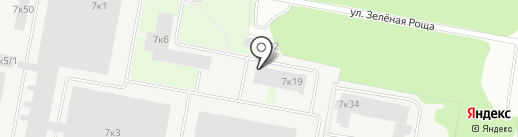 Колорит на карте Бердска