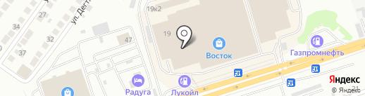 Оптово-розничная компания товаров для детей на карте Новосибирска