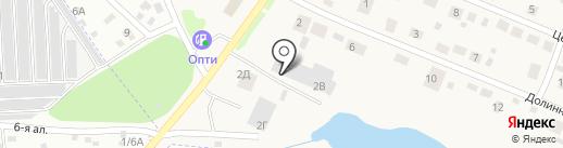 Фобос на карте Восхода