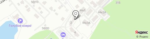 ЖК Морской на карте Бердска