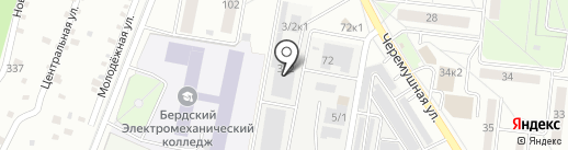Компания по перетяжке салонов автомобилей на карте Бердска