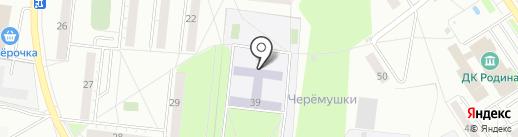 Средняя общеобразовательная школа №12 г. Бердска на карте Бердска