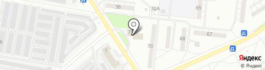 Содружество на карте Бердска