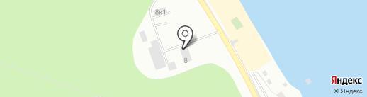 Бердский РЭС на карте Бердска